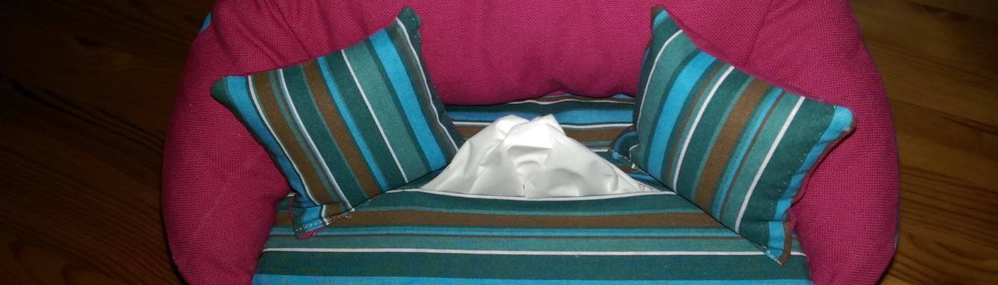 Taschentuch-Couch