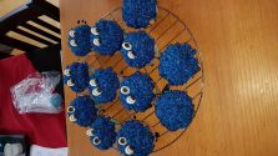 Krümelmonster - Muffins